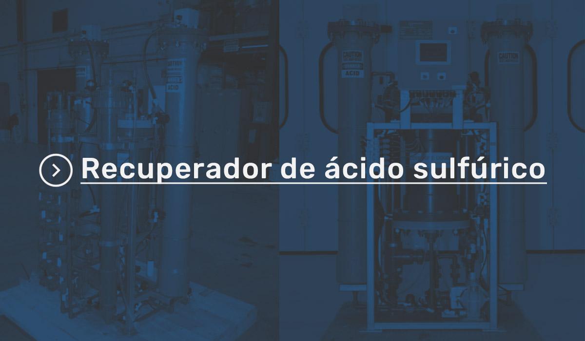 Recuperador de ácido sulfúrico